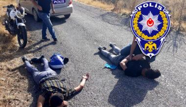 Motosiklet Hırsızları Kaçarken Kaza Yaptı