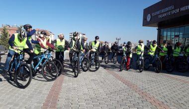 40 Bisikletçi Çırmıhtı'da Pedal Çevirdi