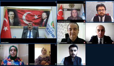 Başkan Gürkan, MTÜ Öğrencileriyle E-Söyleşide Bir Araya Geldi