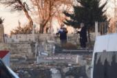 Sancaktar Mezarlığında İlginç Olay