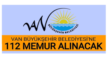 Van Büyükşehir Belediyesi Personel Alımı