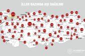 Malatya'da 13 bin 913 Kişi Aşılandı