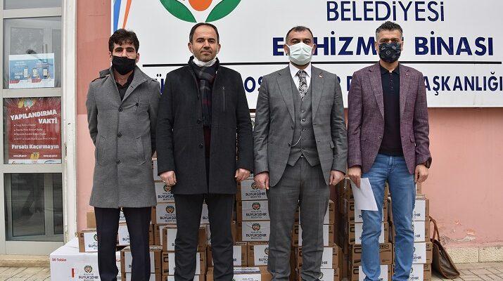 Bayır Bucak Türkmenleri 'ne İlaç Desteği