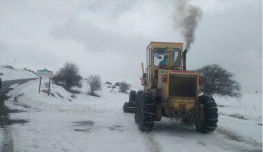 Karla Kaplı Yollar Açılıyor