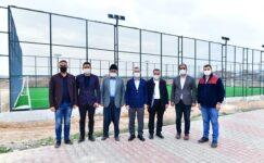 ' Tohma Semt Spor Sahası' Projesi Gerçeğe Dönüştü