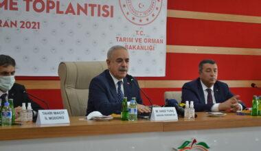 Tarım ve Orman Sektörü Değerlendirme Toplantısı Yapıldı