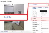 1 Oda İçin İstenilen Fiyat Dudak Uçuklattı